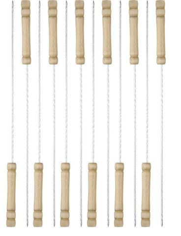 "BBQthingz™ | 12"" BBQ Shish Kebab Skewers 