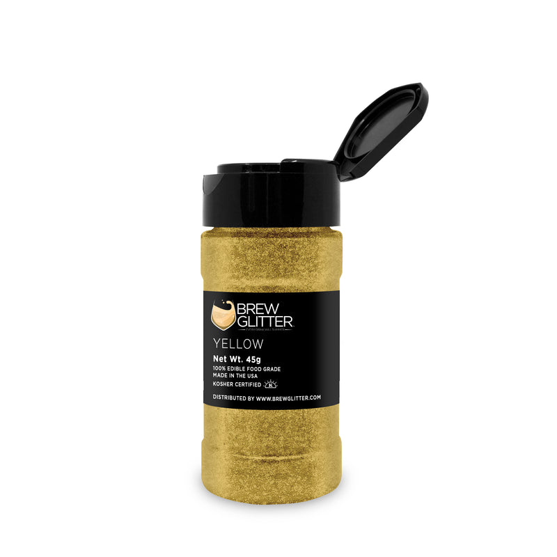 Yellow Brew Glitter | Food Grade Beverage Glitter