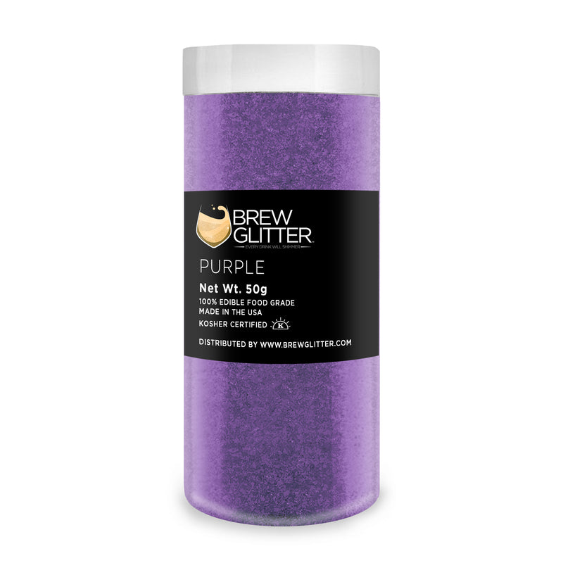 Purple Brew Glitter | Food Grade Beverage Glitter