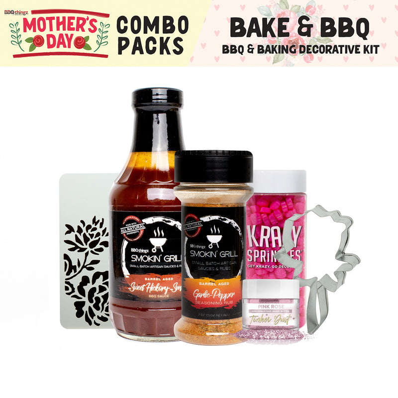 Mother's Day Collection BBQ & Baking Decorating Gift Set B (6 PC SET)