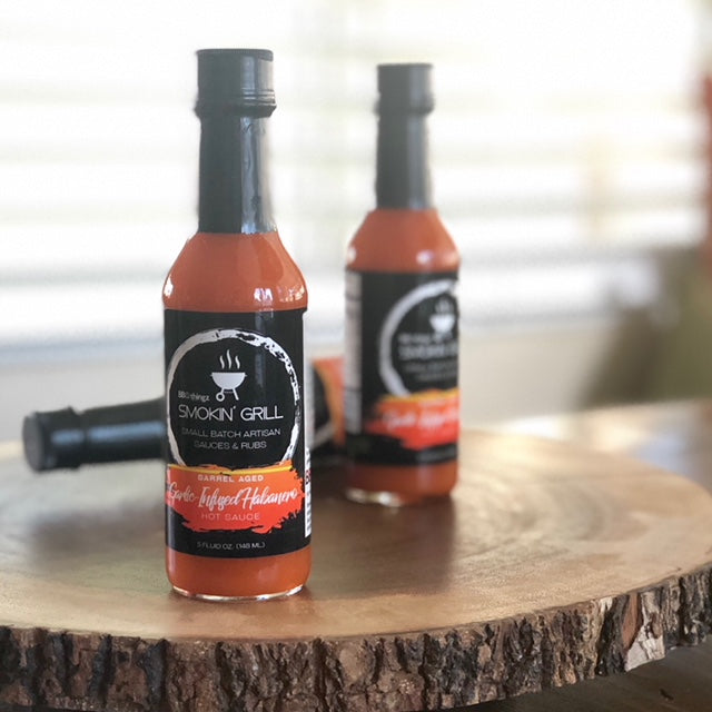 Garlic Infused Habanero Hot Sauce - BBQthingz.com | Artisan Hot Sauces