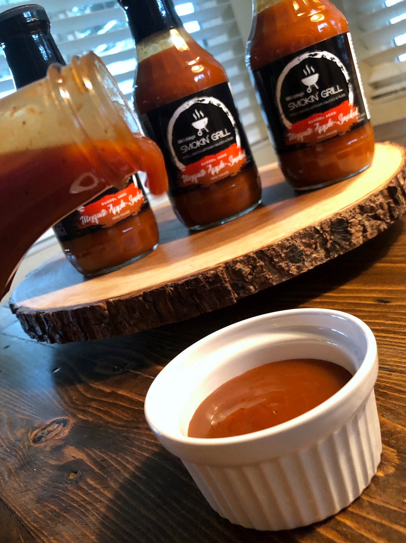 Mesquite Apple-Smoked BBQ Sauce | BBQthingz.com - Artisan BBQ Sauces
