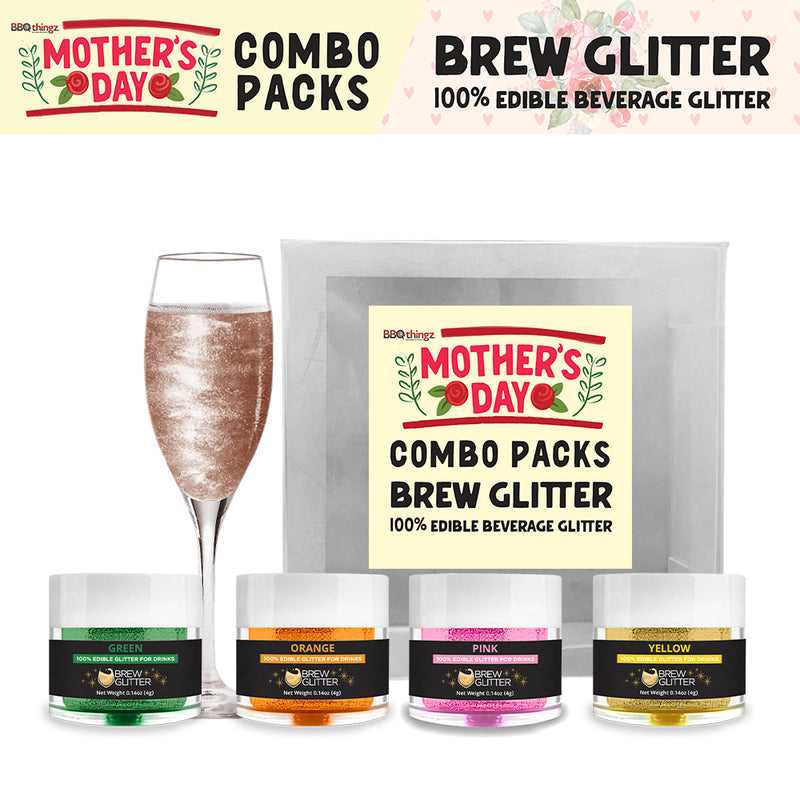 Mother's Day Brew Glitter Combo Pack Collection A (4 PC SET)