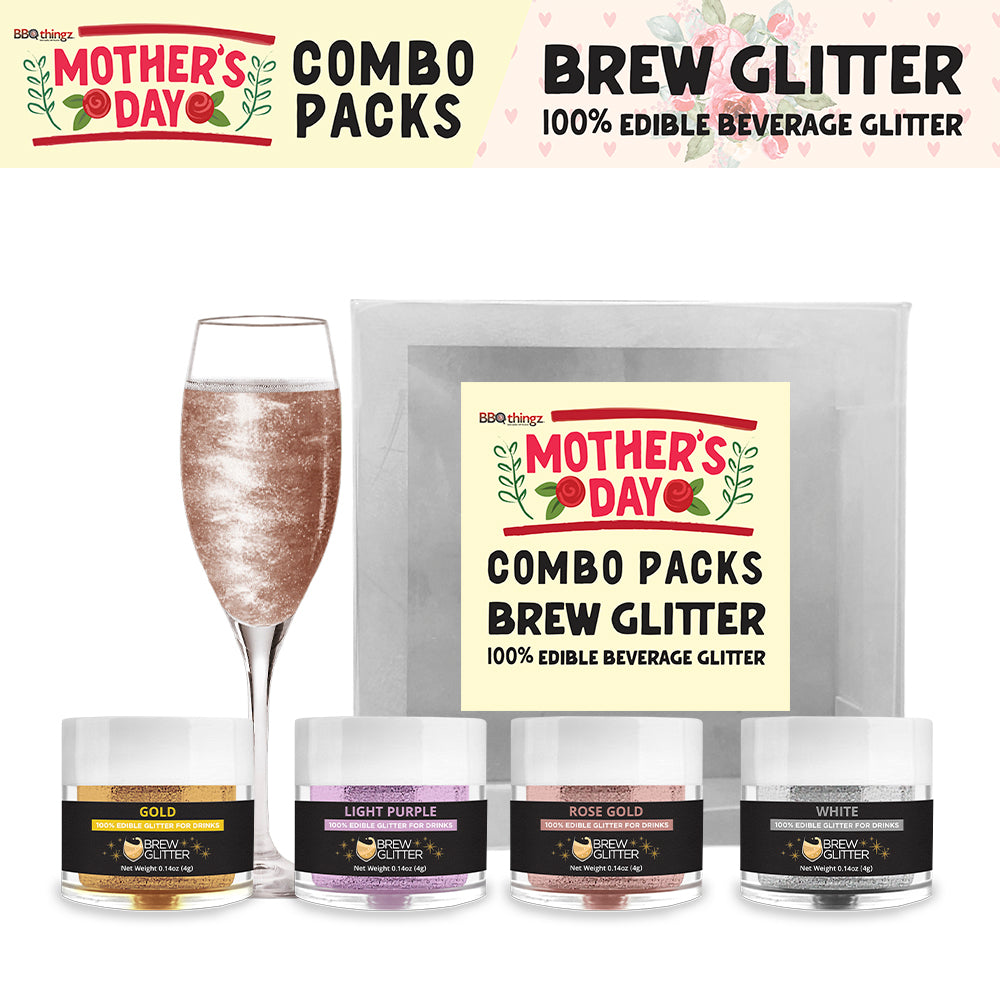 Mother's Day Brew Glitter Combo Pack Collection B (4 PC SET)