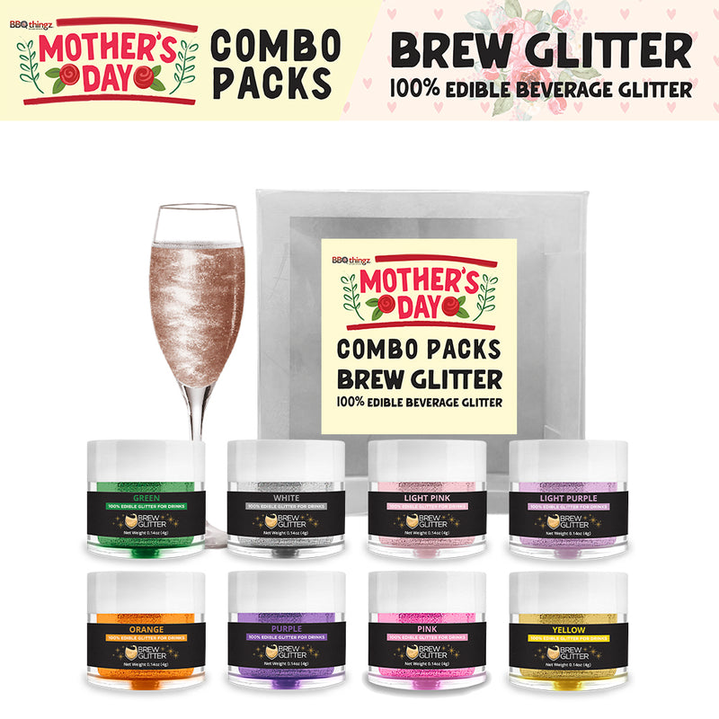 Mother's Day Brew Glitter Combo Pack Collection A (8 PC SET)