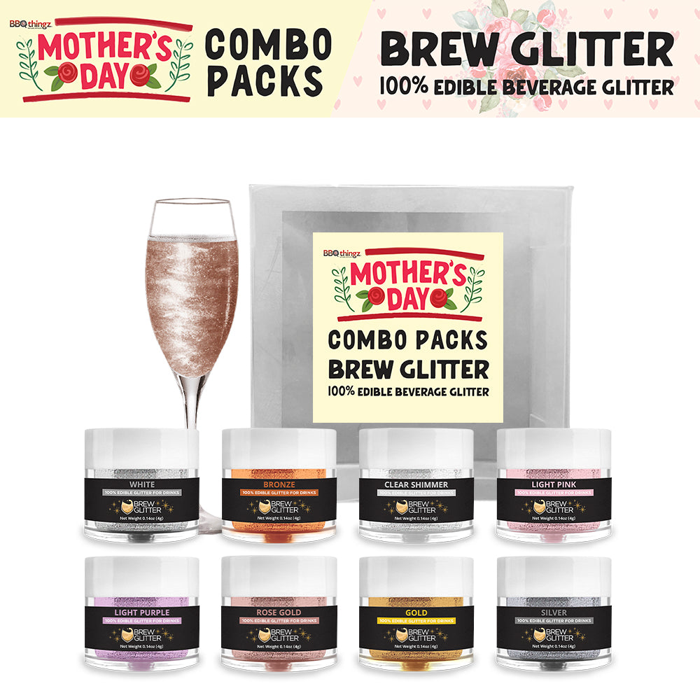 Mother's Day Brew Glitter Combo Pack Collection B (8 PC SET)
