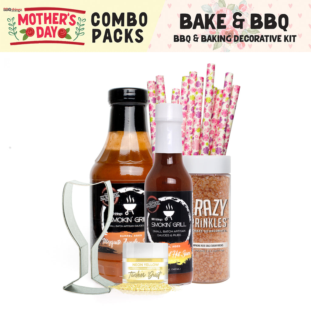 Mother's Day Collection BBQ & Baking Decorating Gift Set A (6 PC SET)