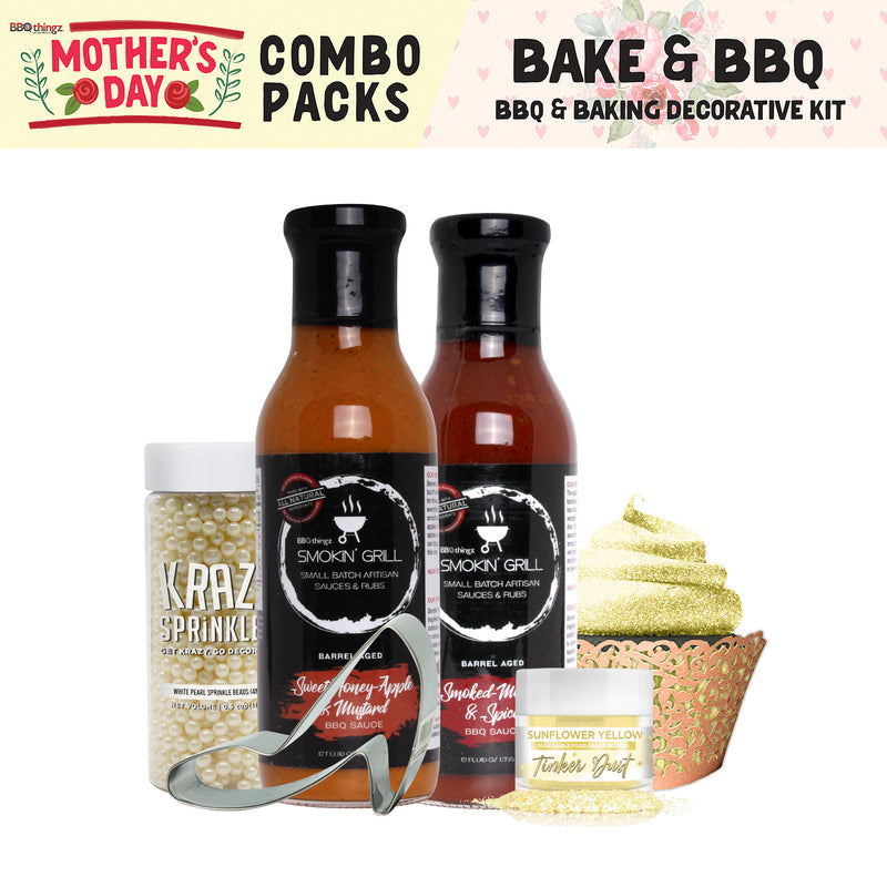 Mother's Day Collection BBQ & Baking Decorating Gift Set C (6 PC SET)