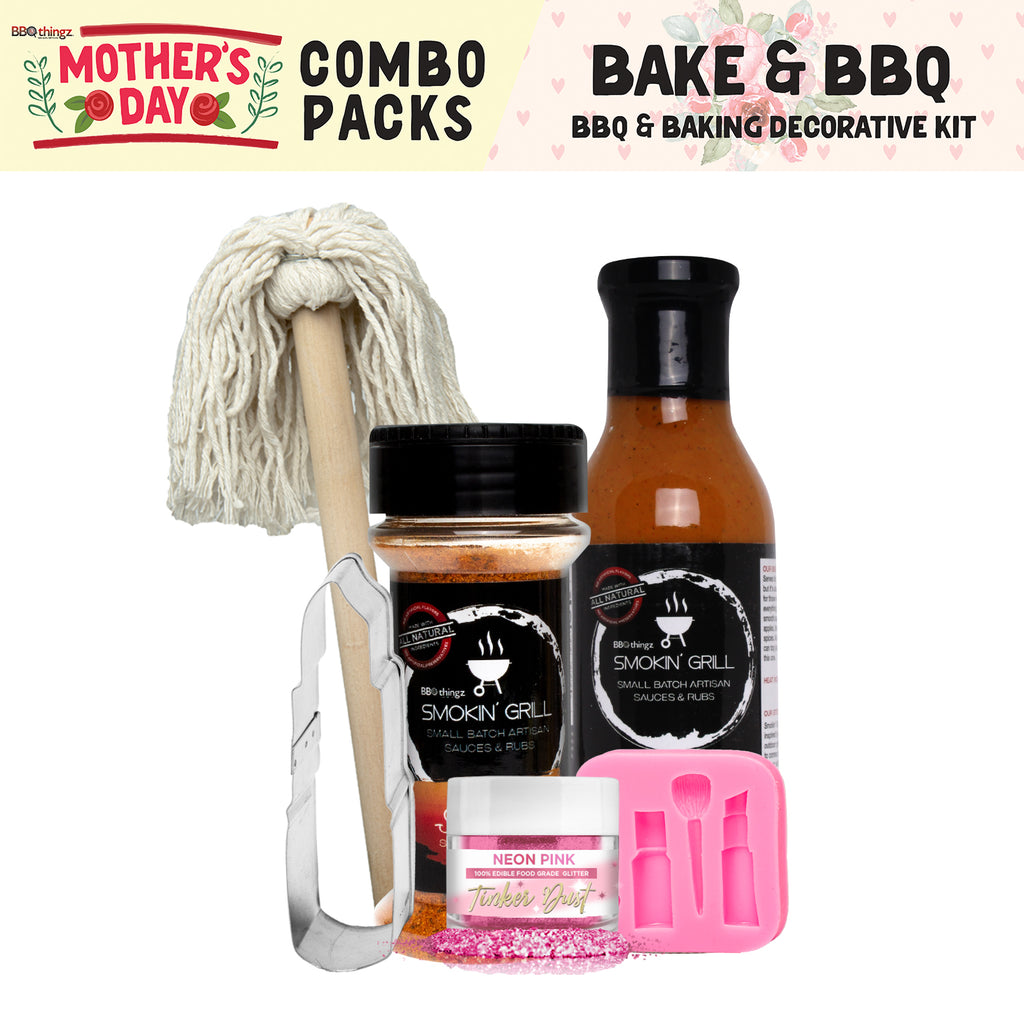 Mother's Day Collection BBQ & Baking Decorating Gift Set D (6 PC SET)