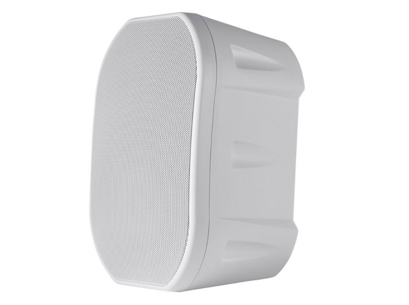 BBQthingz™ | 6.5-in Weatherproof 2-Way Speakers with Mounting Bracket - White