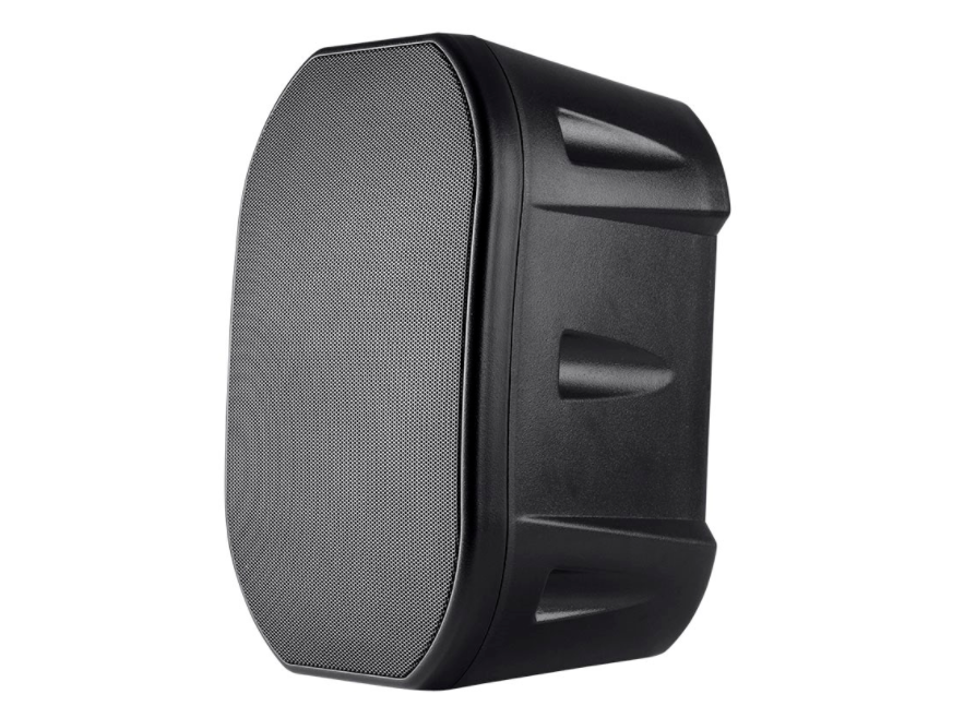 BBQthingz™ | 6.5-in Weatherproof 2-Way Speakers with Mounting Bracket - Black