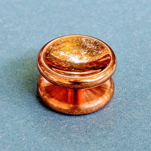24.1mm Polished Copper Buttons