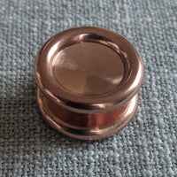 24.1mm Polished Torus Copper Buttons