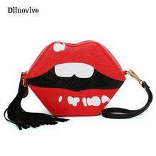 Red Lips Women Handbag
