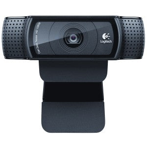 Logitech C920 Webcam - 30 fps - Black - USB 2.0 - 1920 x 1080 Video - Auto-focus - Widescreen - Microphone