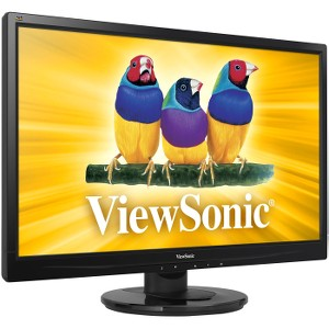 "Viewsonic VA2246m-LED 22"" LED LCD Monitor - 16:9 - 5 ms - Adjustable Display Angle - 1920 x 1080 - 250 Nit - 1,000:1 - Full HD - Speakers - DVI - VGA - 34 W - Cadence Exchange"