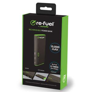 DigiPower 1-re-fuel RF-A130 Rechargeable Power Bank 13,000mAh - Cadence Exchange