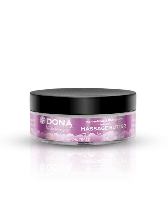 DONA Massage Butter Tropical Tease 4oz/118ml