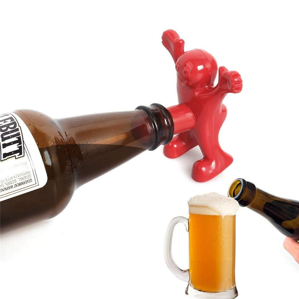 Party Man Bottle Stopper