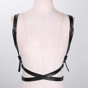 Naughty Faux Leather Body Straps
