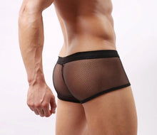 Mens Perspective Pouch Soft Lightweight Black Briefs Panties Underpants. -2