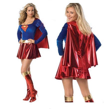Naughty Supergirl Sexy Costume