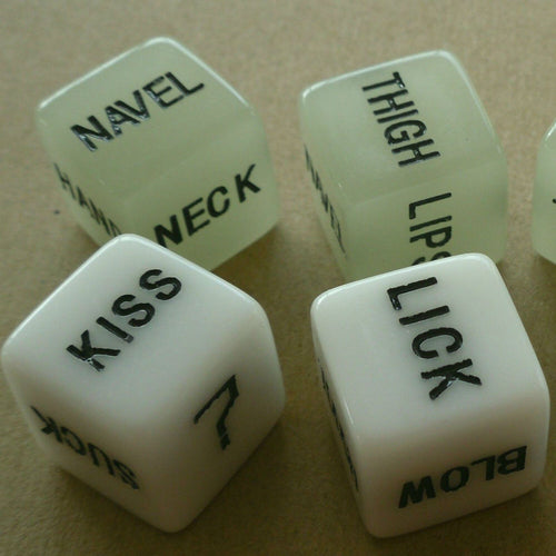 Novelty Naughty Dice (A Pair)