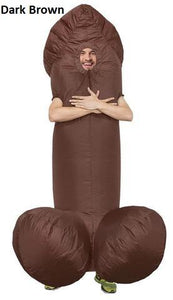 Mr. Willy Polyester Inflatable Costume
