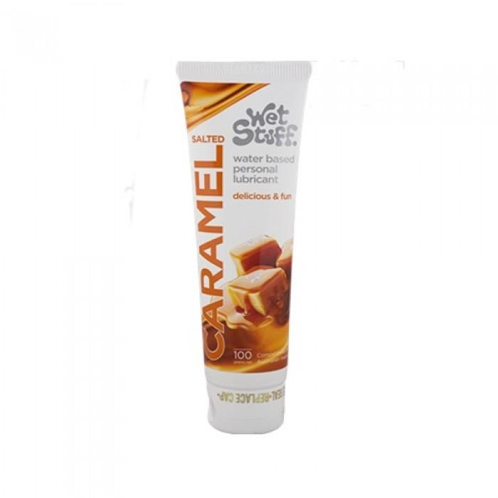Wet Stuff Water Based Lubricant Salted Caramel Flavoured 100ml
