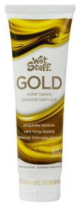 Wet Stuff Water Based Lubricant Gold 100ml
