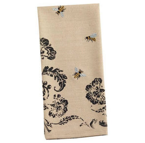 Busy Bee Embellished Tea/Dish Towel