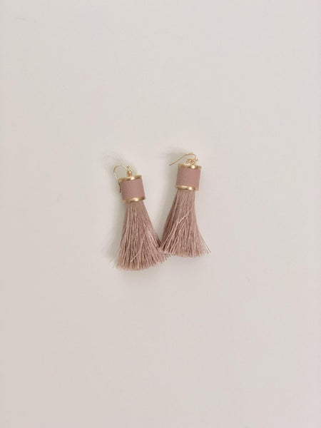 Chic Faux Leather Earring - Vintage Hope Boutique