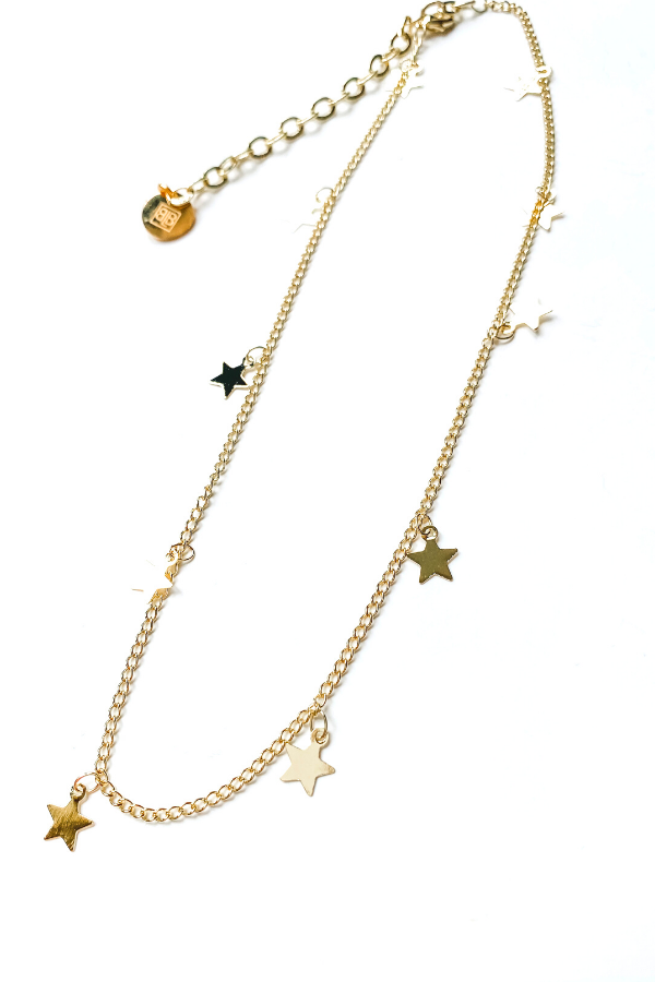 Starry Night Choker/ BB Lila - Vintage Hope Boutique