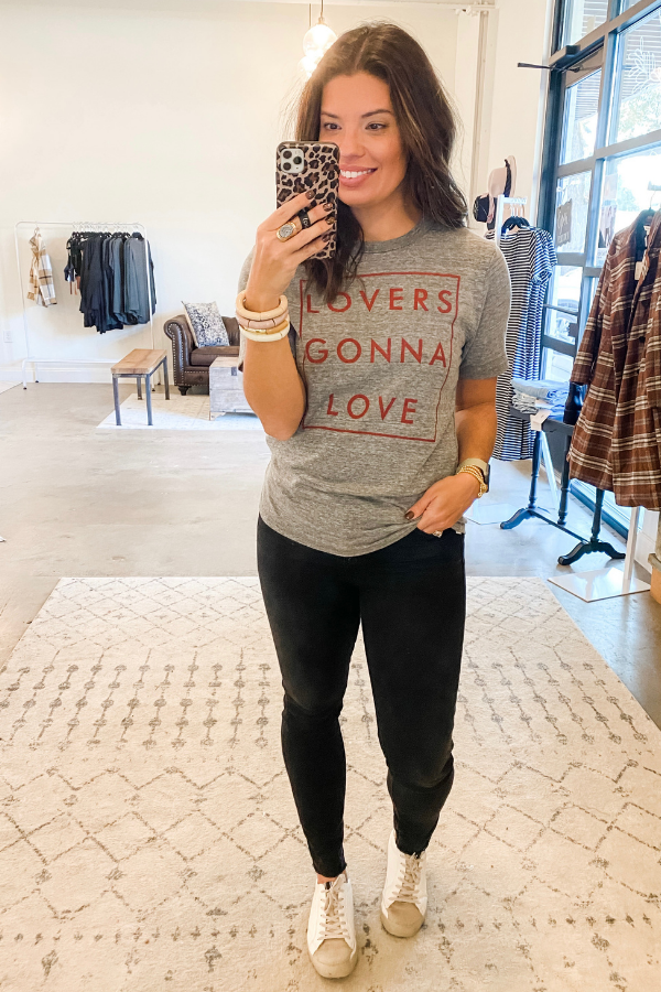 Lovers Gonna Love Tee by The Light Blonde - Vintage Hope Boutique