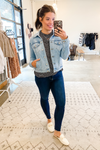 Light Denim Classic Jacket - Vintage Hope Boutique