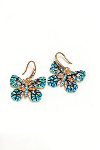 Come Fly With Me Butterfly Earrings | BB Lila - Vintage Hope Boutique