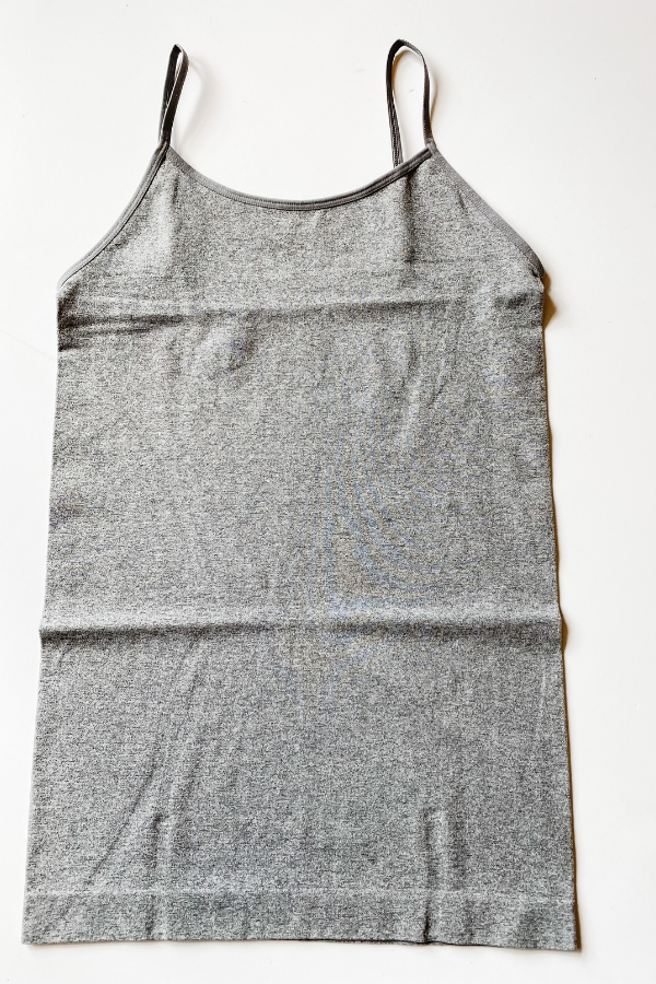 Heather Grey Seamless Cami - Vintage Hope Boutique
