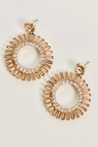 Starry Night Earring- Blush