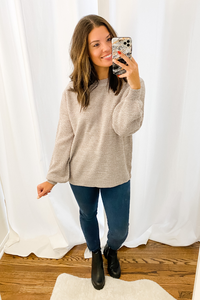 Classic Light Grey Sweater - Vintage Hope Boutique