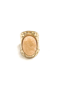 Rock On Ring Blush | BB Lila - Vintage Hope Boutique