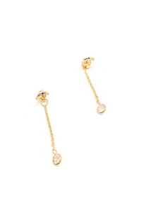 BB Lila Sweeties Studs - Vintage Hope Boutique