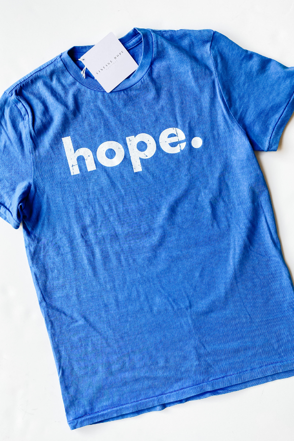 Hope Tee by The Light Blonde - Vintage Hope Boutique