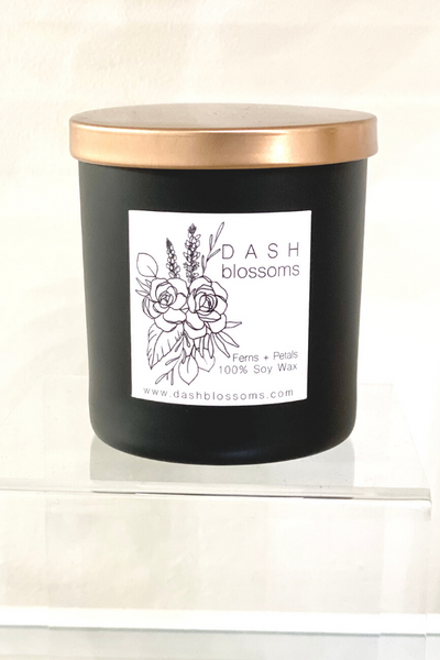 Dash Blossoms Candle - Vintage Hope Boutique