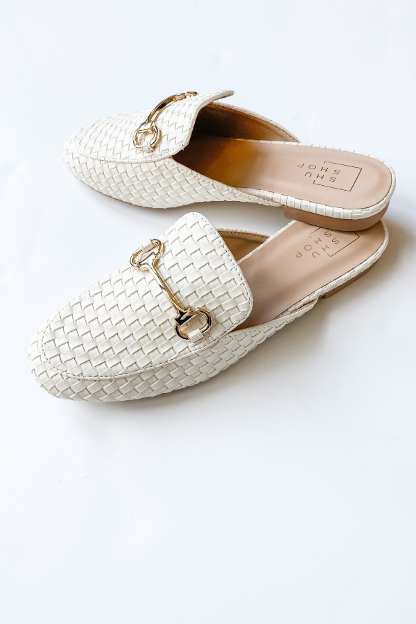 Tulia Woven Mule - Vintage Hope Boutique