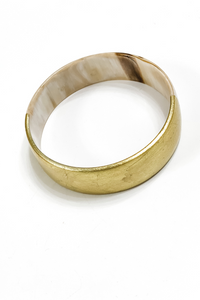 Wide Horn Bangle by Rush Co. Creative - Vintage Hope Boutique