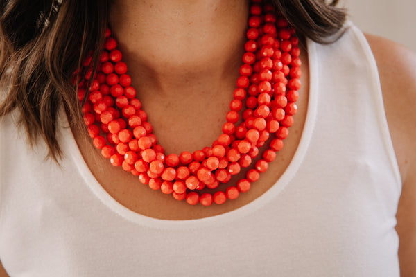 Solid Statement Necklace