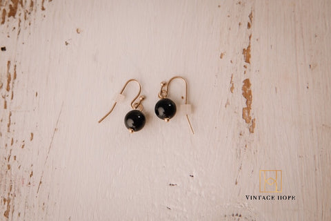 Simple Bead Earring