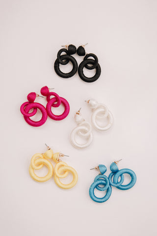 Wrapped Loop Earrings