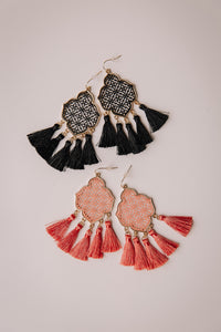 Filigree Tassel Earring