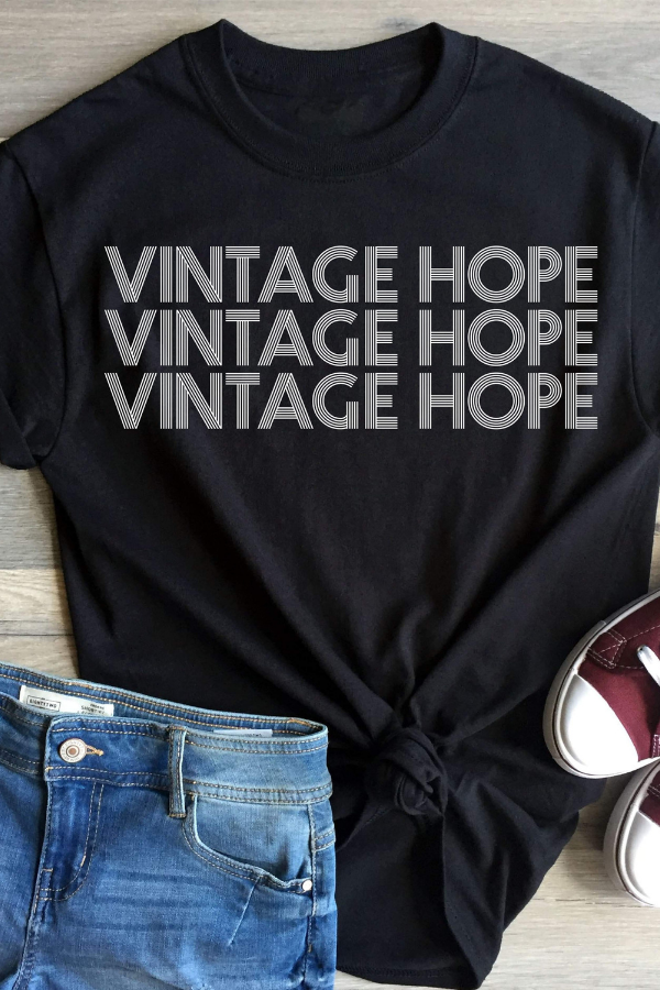 Vintage Hope Tee - Vintage Hope Boutique